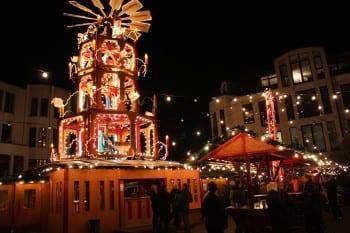 Die Weihnachtspyramide - auch in diesem Jahr ein Höhepunkt in Refrath