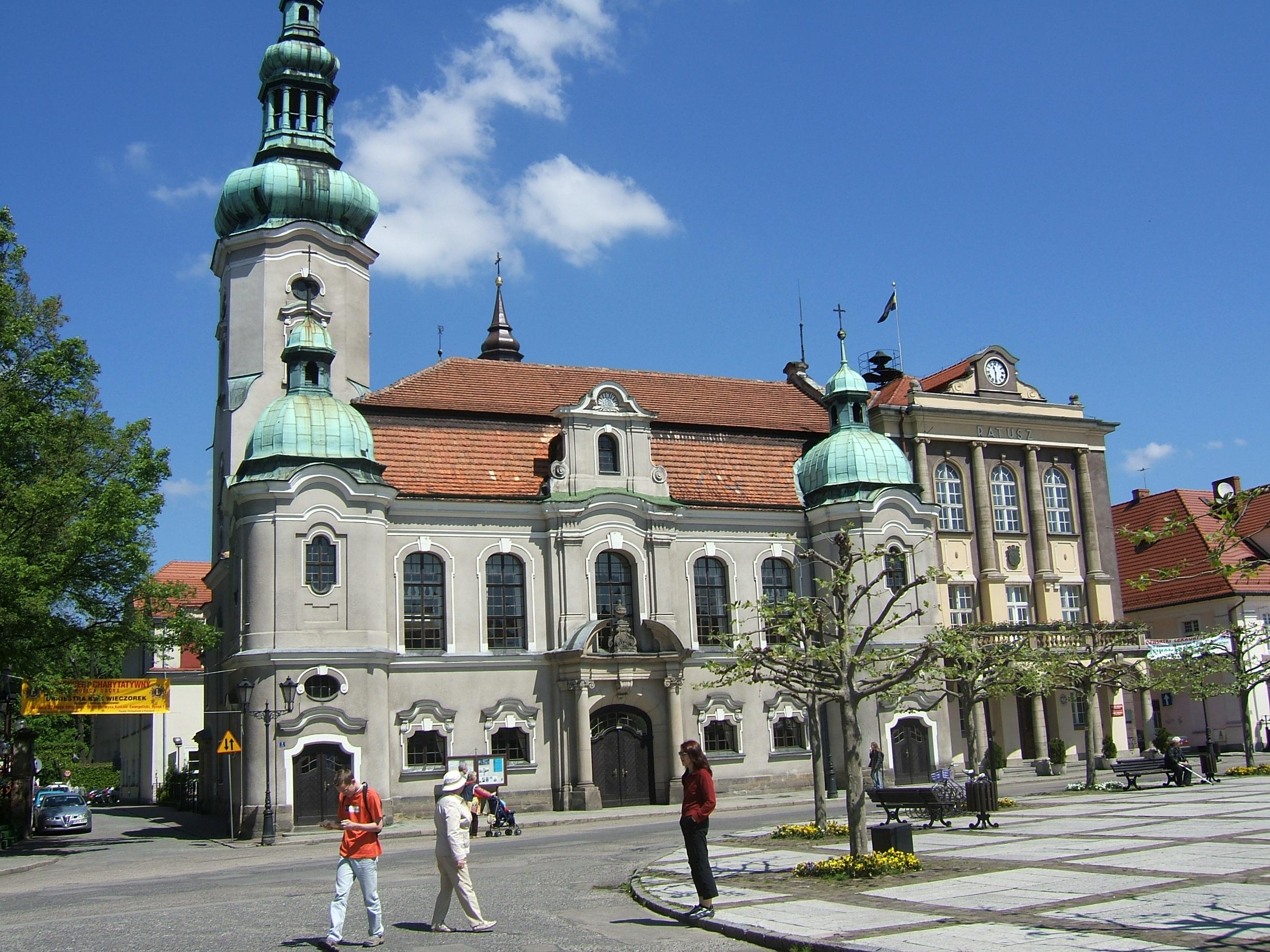 Mit dem Heilsbrunnen nach Auschwitz und Pszczyna