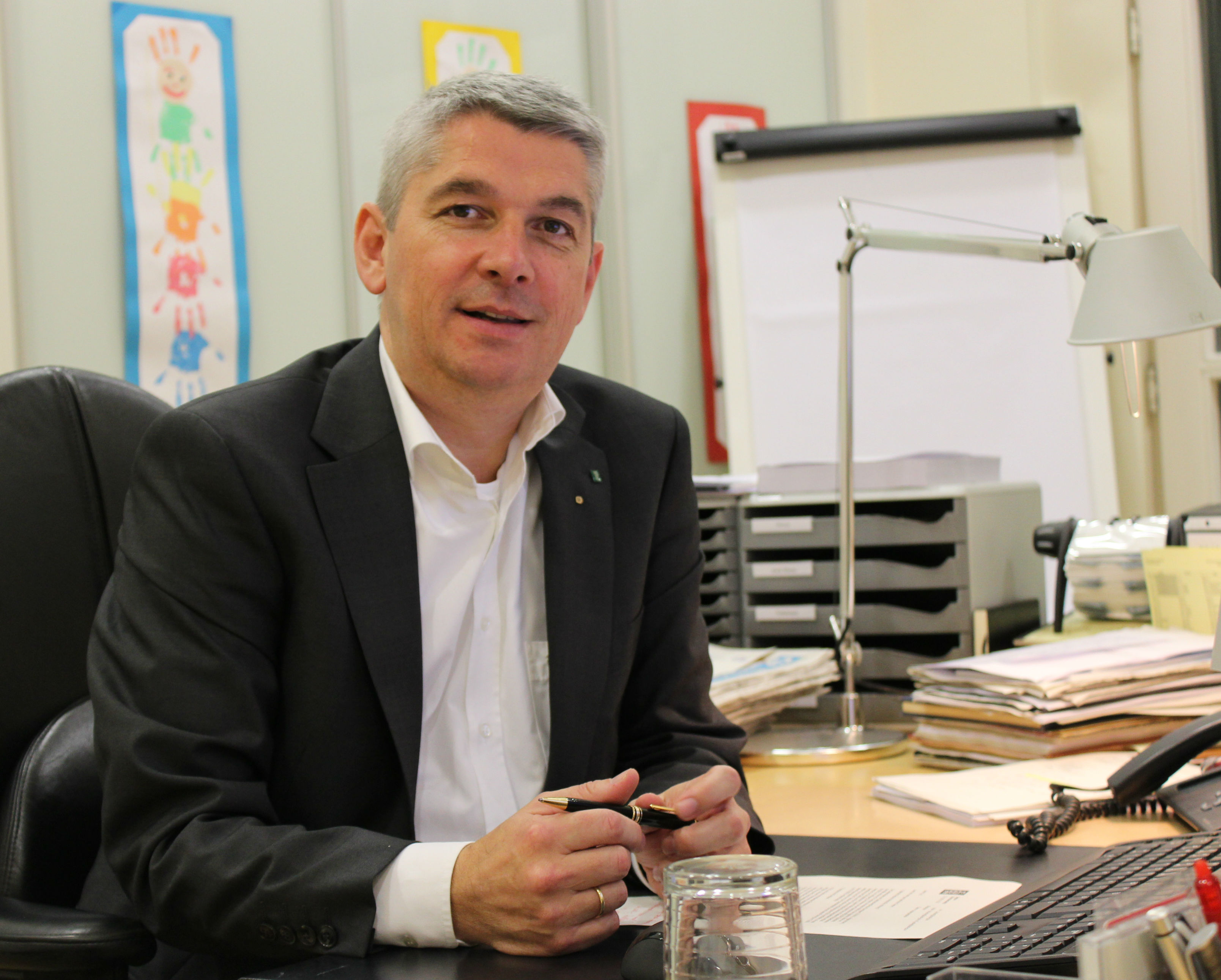 Bürgermeister Lutz Urbach