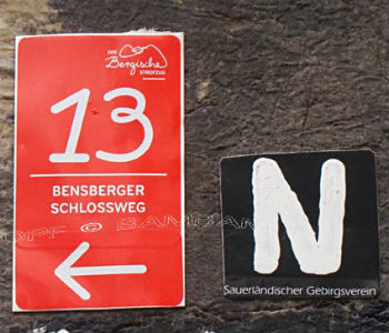 Entdeckungen auf dem Bensberger Schlossweg