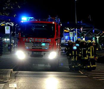 Flächenbrand bedrohte Porsche-Zentrum Bensberg