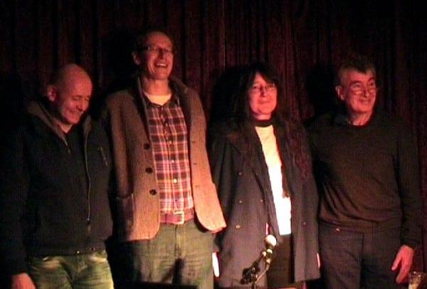 Das Team: Ralf Hahn, Thomas Küchler, Monika Klein, Norbert Esser