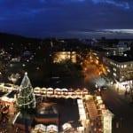Vorweihnachtlicher Gruß vom Rathaus-Türmchen