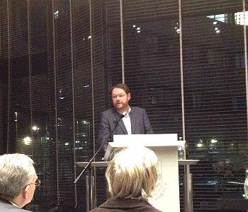 Peter Mömkes am Dienstag im Stadtrat