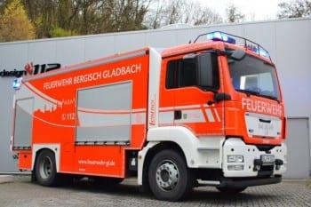Der neue Feuerwehrwagen mit GL-Skyline