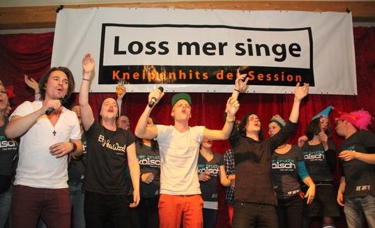 """Cat Ballou, Gewinner des """"Loss mer Singe""""-Wettbewerbs 2013"""