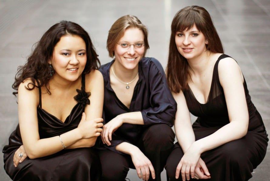 Zamira Kumarzhanova, Cosima Streich und Jelena Eskin.