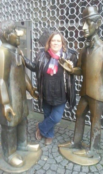 Ursula Wintgens mit Kölner Promis