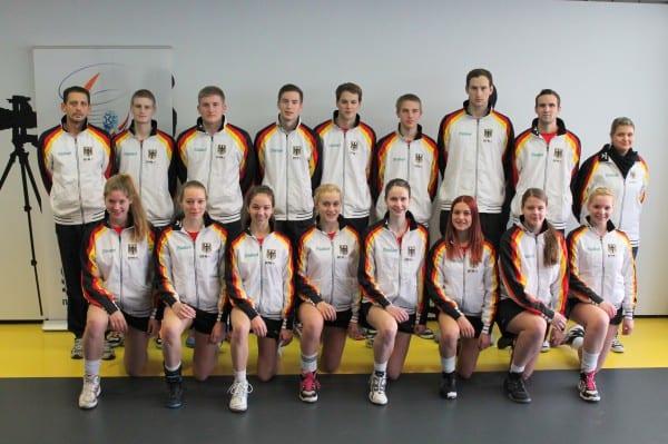 Die U21 Korfball-Nationalmannschaft