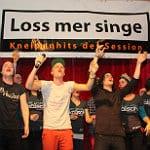 """""""Loss mer singe"""" startet Kartenvergabe"""