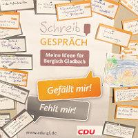 """Die CDU will mit den Bürgern """"schreibsprechen"""""""