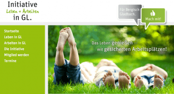 Screenshot der ILA-Website