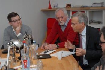 Ruben Sowa, Klaus Wagner, Jörg Krell