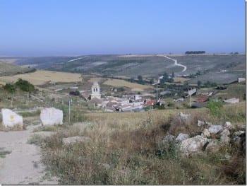 Hontanas – Dorf in der Meseta, einer über 100 km langen Hochebene. (Foto: Denis Wester)