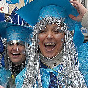Karneval 2016 in Bergisch Gladbach: Kurz und jeck