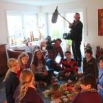 ZDF besucht DRK-Kindertrauergruppe
