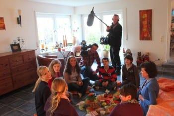ZDF bei der Kindertrauergruppe