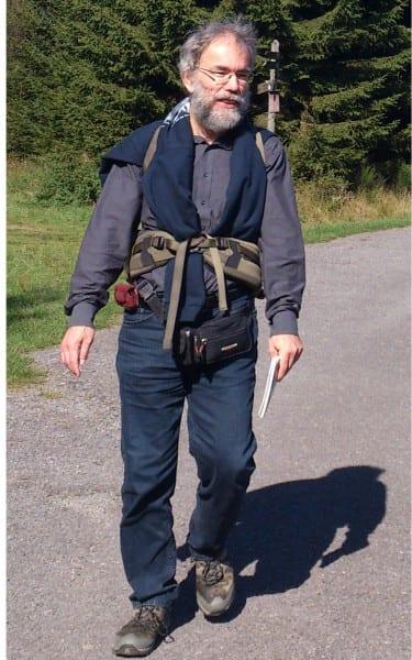 Peter Baeumle-Courth bei einer Wanderung