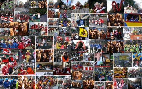 Der Gladbacher Zug 2013 - mit den Eichhörnchen