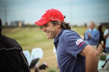 Charlie Röttgen auf dem Golfplatz