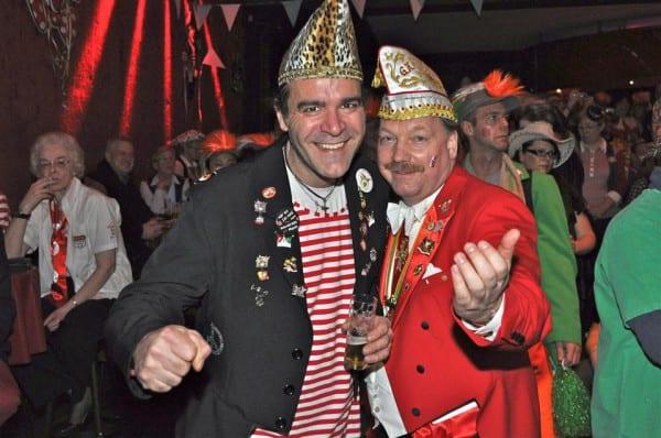 Charlie Röttgen mit Harald Hahn in ruut & wiess