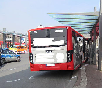 Busbahnhof Unfall 230