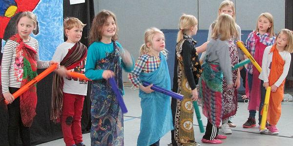GGS Moitzfeld Tanzgruppe