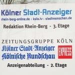 Redaktionen in RheinBerg werden zusammen gelegt