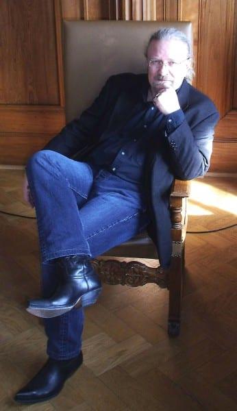 Im großen Ratssaal: Klaus Graf