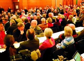 Die erste Bürgerversammlung im Löwen