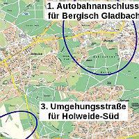 Der Autobahnanschluss – ein Regionalthema