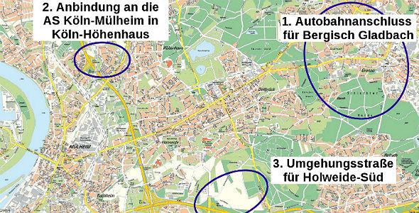 Verkehrskonzept Dellbrück quer