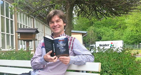 Reiner M. Sowa mit seinem neuen Roman