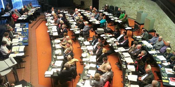 Ratsaal Bensberg: Stadtrat entscheidet über Energieversorgung