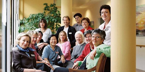 Das Team des Bensberger Tageshospiz'