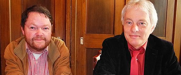 Peter Mömkes (CDU) und Klaus Waldschmidt (SPD)