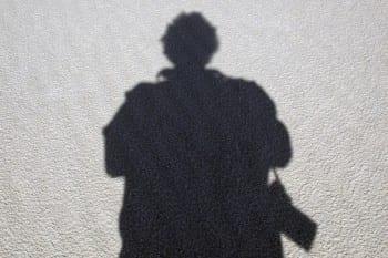 Schattenbild Klaus Hansen