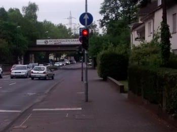 Ampel am Gronauer Waldweg