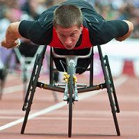 Marc Schuh Fünfter über 200m bei der Para-WM in London