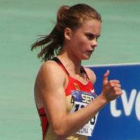 Sonja Mosler schon schnell unterwegs