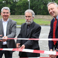 100 Parkplätze mehr am P+R Parkplatz Duckterath