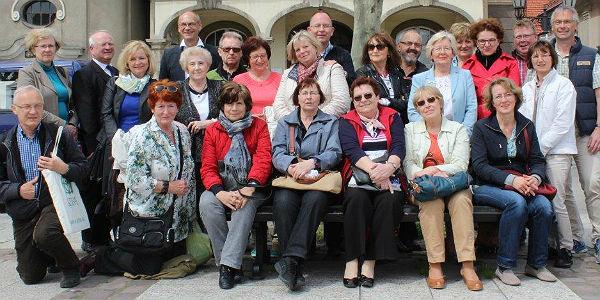 Die Reisegruppe in Pszczyna