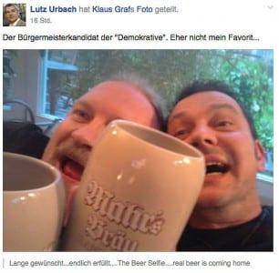 Urbach Graf Selfie