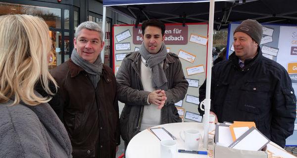 Schreibgespräch in der Stadtmitte - mit Bürgermeister Lutz Urbach