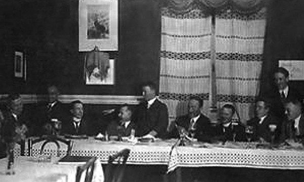 Vorstandssitzung 1927