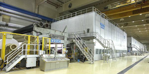PM3 - das Herzstück der Papierfabrik Zanders
