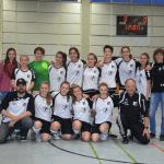U-17-Fußballerinnen sind Meister in der Bezirksliga