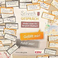 Wie das Wahlprogramm der CDU entstanden ist