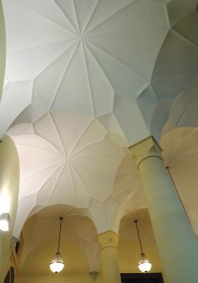 3 Treppenhaus-Gewölbe Rathaus 280 hoch