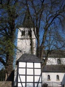 Die Kirche in Herkenrath